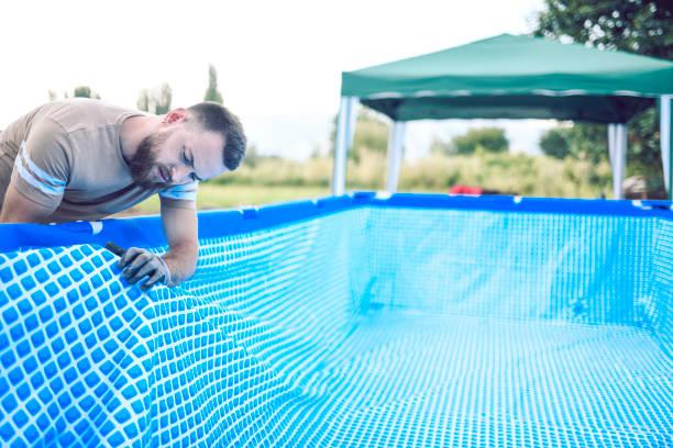 patch liner piscine