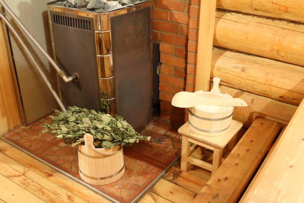 poele bois sauna