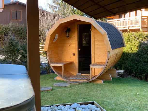prix sauna jardin tonneau